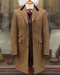 #men #fashion #tweed