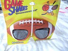 Football Sun Glasses Game Shades Sturdy Sunglasses Game Fun #GameShades #Sport