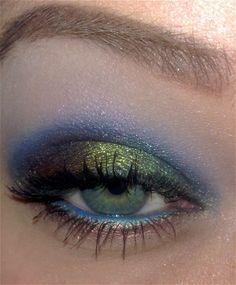 such pretty eye shadow!