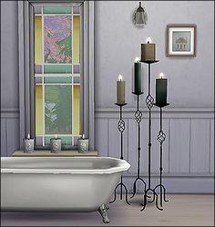 Alphonse bathroom at Altus Sims via Sims 4 Updates
