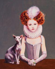 Девочка и сфинкс. Плохие девочки («Le Bambine Cattive») Титти Гарелл (Titti Garelli).