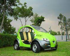Earth friendly car full electric car mlurky