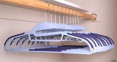 Cresnel U-Slide Clothes Hanger - Ultra Thin Non-slip - Set of 50 $49.95