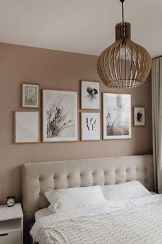 Gallery Wall Bedroom, Room Ideas Bedroom, Home Decor Bedroom, Light Bedroom, Bedroom Boys, Ikea Bedroom, Bedroom Wall Colour Ideas, Pictures For Bedroom Walls, Bedroom Wall Lights