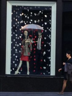 raining hearts. For the Center of the store