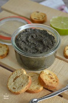 Tapenade de Aceitunas Negras Sandwiches, Pasta, Skinny Recipes, Spreads, Sauces, Dips, Appetizers, Pudding, Healthy