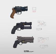Anime Weapons, Sci Fi Weapons, Weapon Concept Art, Weapons Guns, Post Apocalyptic Art, Gun Art, Alien Art, Game Assets, Sci Fi Movies