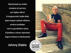 Johnny Diablo élménybeszámolója a hipnózisról Baseball Cards, Sports, Devil, Hs Sports, Excercise, Sport, Exercise