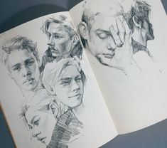 Portrait Drawings and one Celebrity Group Portrait Drawings by Polina Ishkhanova Portrait Sketches, Art Drawings Sketches, Portrait Art, Portraits, Gcse Art Sketchbook, Sketchbooks, Sketching, Sketchbook Inspiration, Art Graphique