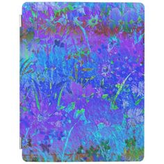 Soft Pastel Floral iPad Covers iPad Cover