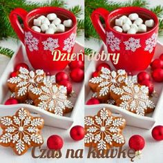 Cute Gif, Gingerbread Cookies, Holiday Decor, Christmas, Food, Gingerbread Cupcakes, Xmas, Essen, Navidad