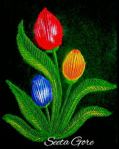 My rangoli . Indian Rangoli Designs, Rangoli Ideas, Mehndi Art Designs, Kolam Rangoli, Easy Rangoli, Beautiful Rangoli Designs, Simple Flower Rangoli, Diwali, Lehenga