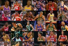 Legends of the NBA: 25 Bests Players of the 80s (via Bleacher Report 9-20-2012)  Clyde Drexler & Karl Malone Missed the Cut- Check out the list- what do you think?