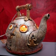 Whole series of teapots (Earl Grey Revisited)? Or maybe just add some teapots to the Steampunk series...