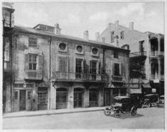 old absinthe house bourbon street french quarter of new orleans 1920s source new orleans. Black Bedroom Furniture Sets. Home Design Ideas