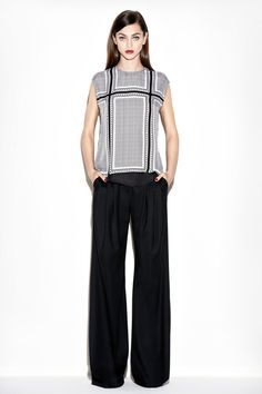 Rachel Zoe | Pre-Fall 2014 Collection | I love the proportions