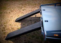 Julian's Flatbed Tilt Trailer - Built from the 2500KG FLATBED TILT TRAILER PLANS - www.trailerplans.com.au