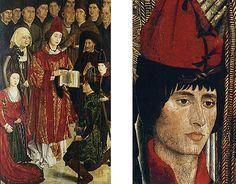 Retable de saint Vincent, vers 1460, attribué à Nuño Gonçalves, Lisbonne Nuno, Saint, Portugal, Places, Painting, Middle Ages, Renaissance, Lisbon, Art History