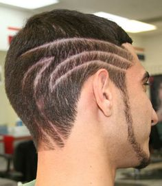 mens hair tattoo | stencils hair tattoos for men mens hair tattoos and posted at january ...