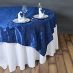 Ten Navy Crinkle Taffeta Overlays-free Ship. Ten Navy Crinkle Taffeta Overlays-free Ship on Tradesy Weddings (formerly Recycled Bride), the world's largest wedding marketplace. Price $1.00...Could You Get it For Less? Click Now to Find Out!