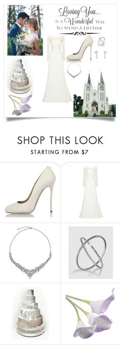 """Wedding"" by mary2003 ❤ liked on Polyvore featuring WALL, Dsquared2, Rime Arodaky and John Lewis"