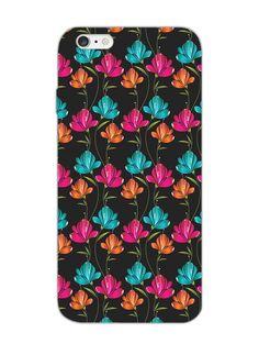 Black Floral - Designer Mobile Phone Case Cover for iPhone 6 Plus