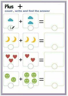 english worksheets for prep Preschool Writing, Numbers Preschool, Preschool Learning Activities, Kindergarten Math Worksheets, Math For Kids, Addition Worksheets, Count, Modern Design, Kids Learning Activities