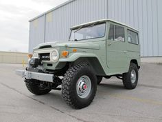 toyota-land-cruiser-fj40-1970-4×4-rare-clean-frame-off-restoration-green-japan-a | Land Cruiser Of The Day!