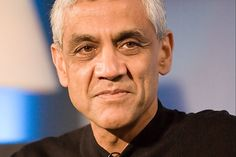 Noted entrepreneur Vinod Khosla bounced back from several failed attempts at business before finding success with Sun Microsystems.