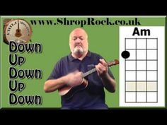 ▶ How To Play Really Easy Ukulele (1a) Strumming pattern - YouTube