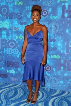Producer Issa Rae attends HBO's Official 2016 Emmy After Party at The Plaza at…