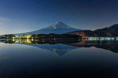 Mt.Fuji before sunrise by MIYAMOTO Y on 500px