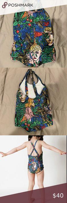 Multi Tote Bag by Terry Fan 18 x 18in The Night Gardener