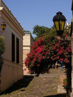 Colonia del Sacramento - Uruguay  Su barrio histórico fue declarado Patrimonio de la Humanidad en 1995 al ilustrar la fusión exitosa de los estilos portugués, español y post-colonial.