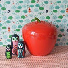 bac à glaçons pomme vintage - deco-graphic.com