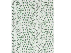 Brunschwig & Fils LES TOUCHES GREEN P8012138.3 - Brunschwig & Fils - Bethpage, NY, P8012138.3,Brunschwig & Fils,Print,Wallpaper Collection,Green, White,S,Up The Bolt,USA,Yes,Brunschwig & Fils,No,LES TOUCHES GREEN