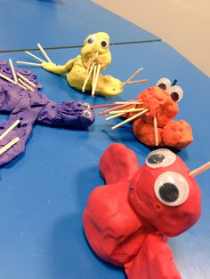 After reading 'Zog' the children loved using plasticine to make these dragons Human Body Activities, Art Activities For Toddlers, Eyfs Activities, Activities For Kids, George Washington, Do Dragons Exist, Castles Topic, Cat Entertainment, St Georges Day