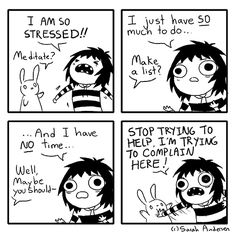 Sarah's Scribbles - Procrastination and Complaining