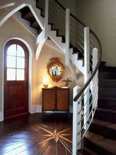 Wow! Modernized 15th century nautical? I mean, I think Sir Walter Raleigh would live here...