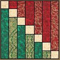 Mock Logs pattern for Quilts and Stained Glass Quilt Block Patterns, Pattern Blocks, Quilt Blocks, Quilting Tutorials, Quilting Projects, Quilting Designs, Log Cabin Quilts, Barn Quilts, Log Cabins