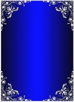 Blue Invitation Background Vumumrezonco