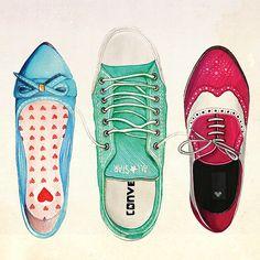 #shoes #drawing #illustration #art
