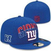 New Era New York Giants 2013 NFL Draft 59FIFTY Fitted Hat - Royal Blue
