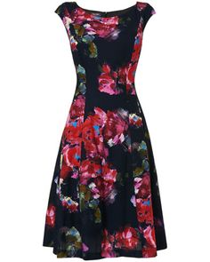 Rosario Fit And Flare Dress