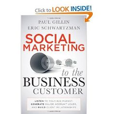 "If you are looking for more information about Business to Business marketing, then this book is a must have for you! ""This hands-on guide covers topics unique to this segment, including cost justification, prospecting and lead generation, matching tools to the sales funnel, building, B2B search engine optimization, social media monitoring, social media policy development, long-term client relationships, gaining stakeholder support, building a more transparent organization, and what's coming…"