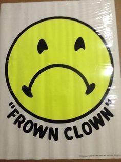 Vintage Frown Clown Black Light Poster 1971 Pro Arts Inc Medina Ohio Medina Ohio, Black Light Posters, Mid Century, Retro, Vintage, Ebay, Art, Art Background, Neo Traditional