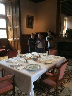 Comedor en Azay Le Rideau