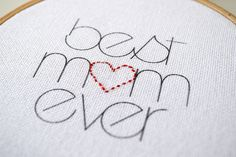 Fairgoods | DIY: Mother's Day embroidery