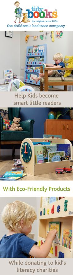 This is who we are.  Discover the lovely story behind Tidy Books! Follow the link!