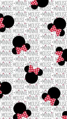 End of Bolt - Minnie Mouse Heads and Bows Fabric from Disney for Springs Creative Cute Wallpapers, Wallpaper Backgrounds, Iphone Wallpaper, Wallpaper Fofos, Disney Fabric, Tsumtsum, Mickey Minnie Mouse, Minnie Mouse Fabric, Disney Wallpaper